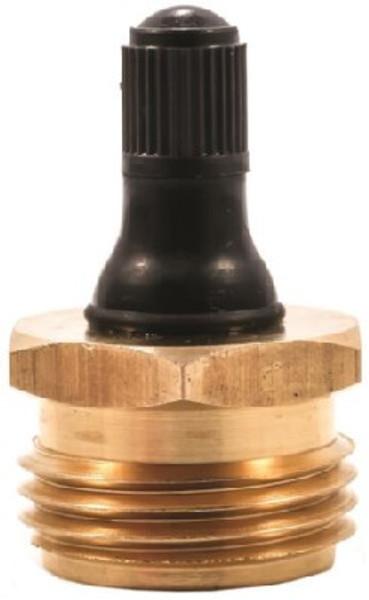 "RV Waterline Blow-Out Plug, 1/2"" Brass"