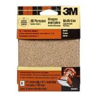 """Palm Sander Sandpaper, 150 Grit Fine, 6 Pack, 4-1/2"""" x 5-1/2"""""""