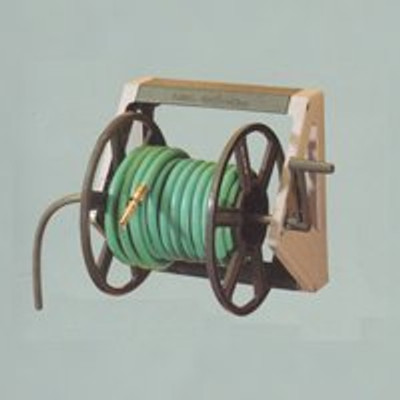 """Hose Reel, Wall Mounted, 16"""" x 12-1/2"""", Poly"""