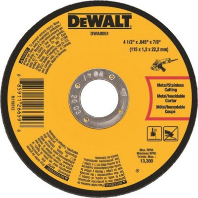 "Cut-Off Wheel, 4-1/2"" x 0.045"", 60 Grit"