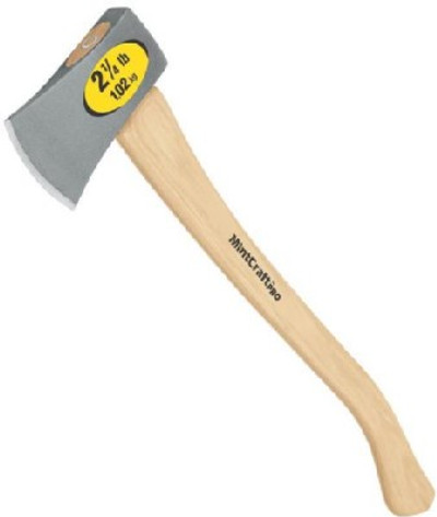 "Camping Axe,  2.5 Lb 29"" Hickory Handle"