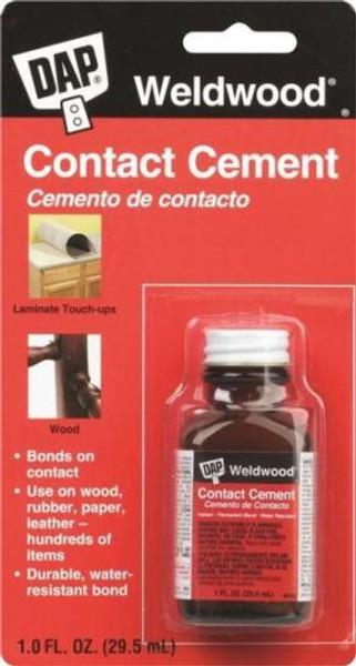 Weldwood Contact Cement 1 Oz Bottle W/ Applicator