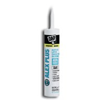 Alex Plus Painter's Clear Caulk, 10.1 Oz Cartridge