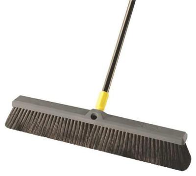 "Push Broom, 24"", Soft Bristle"