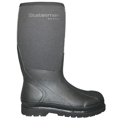 Statesman 16 inch AG Runner Boot Mens 10 - Womens 11 Black