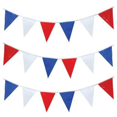 Pennant Flags Red/White/Blue 105'