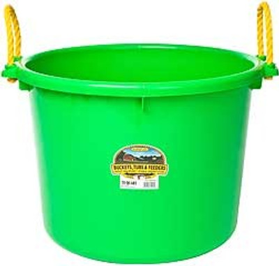 Muck Tub, 70 Quart, Lime Green