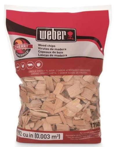 Smoking Wood Chips, Cherry, 2 Lb