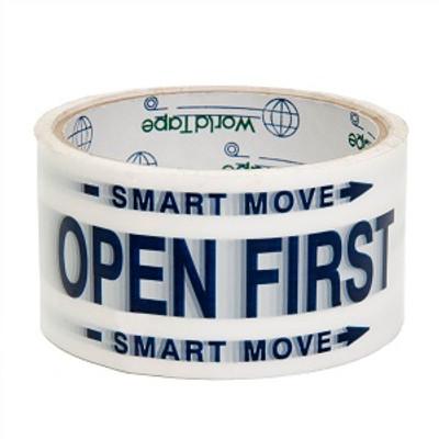 Smart Move, Open First, Carton Sealing Tape, 48 MM x 30 Yds