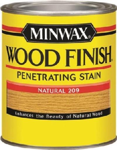 Minwax 70000444 Oil Based Penetrating Wood Finish, 1 qt