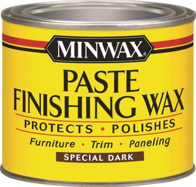 Minwax, Paste Wax, Dark Wood, 1 Lb