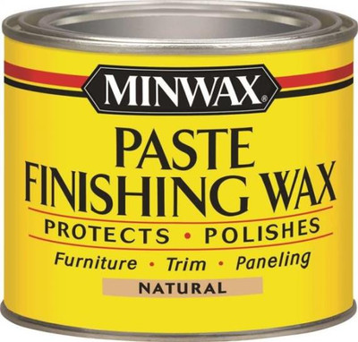 Minwax, Paste Wax, Natural Wood, 1 Lb