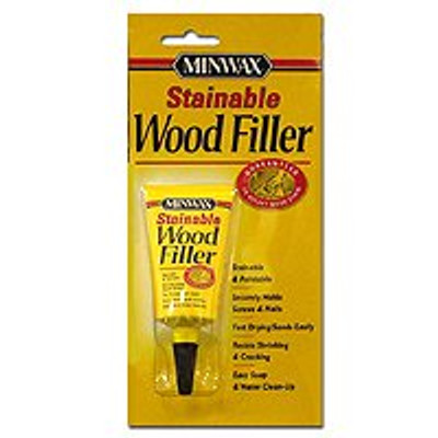 Minwax, Stainable Wood Filler, 1 Oz Tube