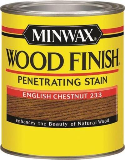 Minwax, English.Chestnut, Wood Stain, Quart