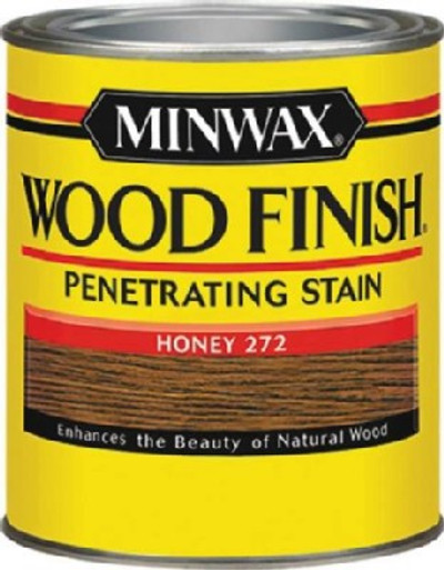 Minwax, Honey, Wood Stain, 1/2 Pint