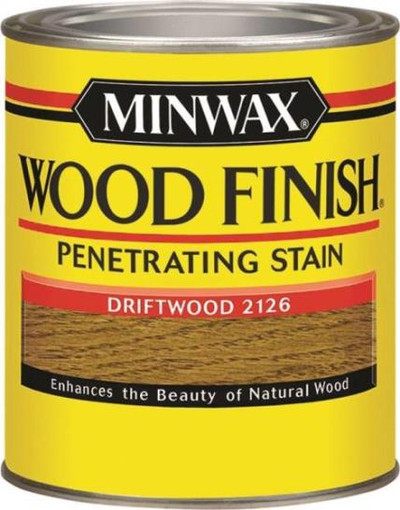Minwax, Driftwood, Wood Stain, Quart