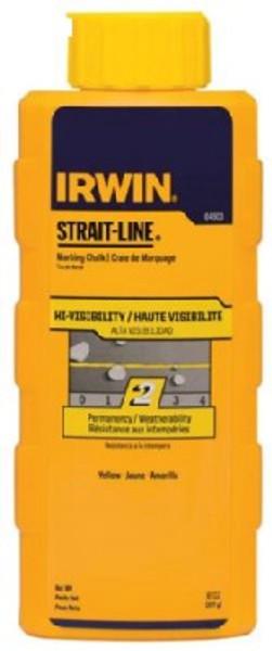 Marking Chalk Line Refill, Yellow, 10.5 Oz