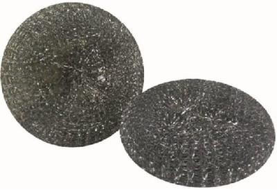 """Quickie, Model 504-3/72 Wire Mesh Scouring Pad, 3-1/2"""" Galvanized Steel, 2 Pack"""