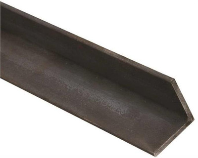 "Steel Angle Bar, 2"" x 48"" x 1/4"", Hot Rolled"