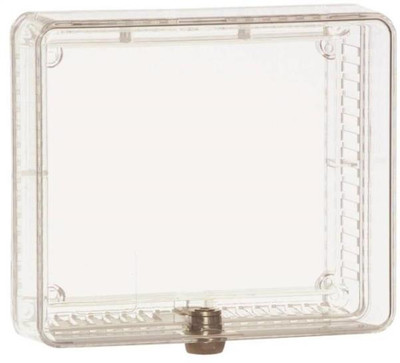 """Thermostat Clear Cover, With Lock, 7-1/4"""" x 9-3/4"""""""