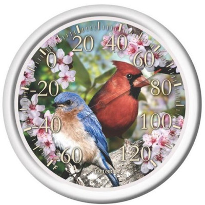 "Thermometer, Outdoor, ""Cardinal"", 12"""