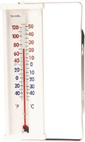 Thermometer, Outside, Window/Wall Mount