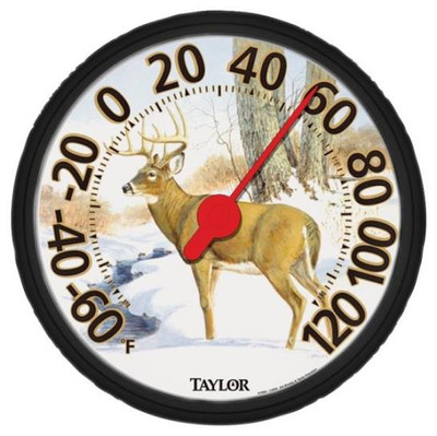 "Thermometer, Outdoor, ""Deer"", 12"""