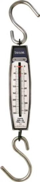 Hanging Scale, 280 Lb Capacity