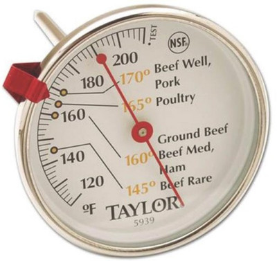Thermometer, Meat, 120 - 212 Deg F