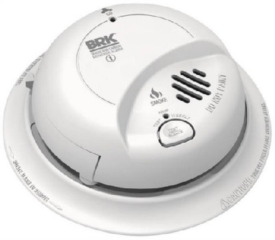 First Alert/BRK Brands Model SC9120B, Smoke & CO Alarm, AC/DC