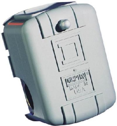 Well Pump Pressure Switch, 40-60 PSI