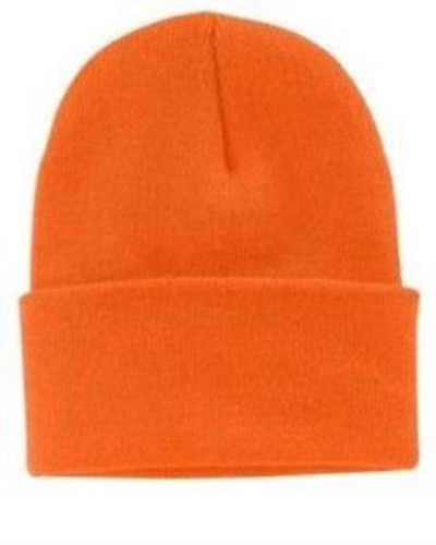 Safety Orange Hunter Cap