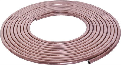 "Copper Tubing, 3/8"" x 10', Soft"