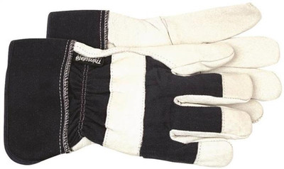 Gloves, Men's Large Lined Leather Work Glove