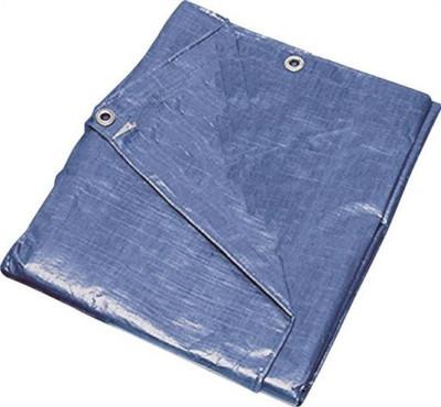 Tarpaulin, 16' x 20', Medium Duty, Blue
