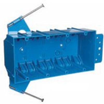 Switch Box, 4 Gang, PVC