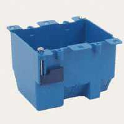 Switch Box, 2 Gang, PVC, Oldwork