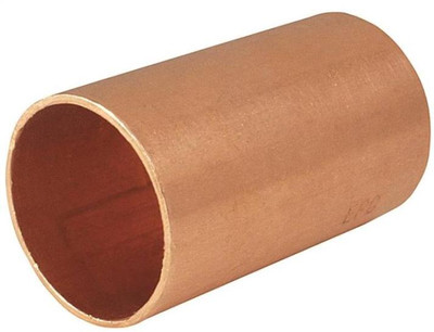 "Copper Fitting, 1-1/2"", CXC, Coupling, Slip"