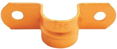 """Copper Fitting, 1"""", Copper Tube Strap, 2 Hole, 5 Pack"""