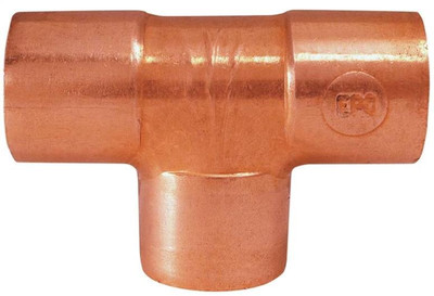 "Copper Fitting, 1"", CXC, Tee"