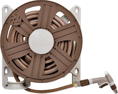 """Hose Reel, Wall Mount 18"""", Poly"""