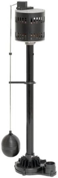 Sump Pump, Pedestal, 1/2 Hp, 3600 GPH