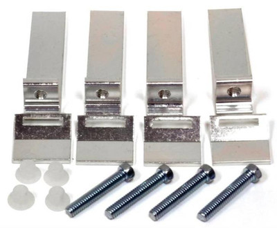 Sink Mounting Clips, (Tile Countertop), 4 Pack