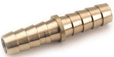 "Barbed Tube Fittings, 3/16"", Coupling, Brass"