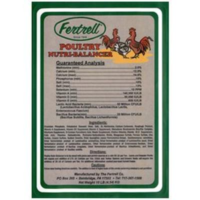 Fertrell Poultry Nutri-Balancer, Regular Formula, 60 Lb