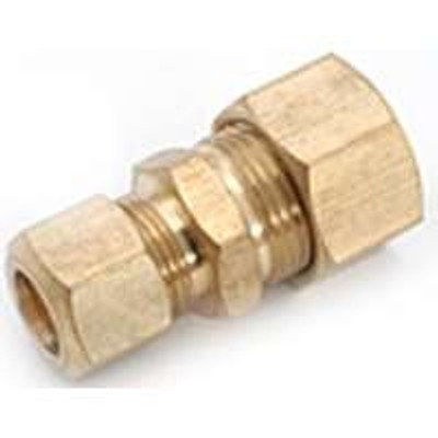 """Compression Fittings, 5/8"""", Union x 1/2"""", Brass"""