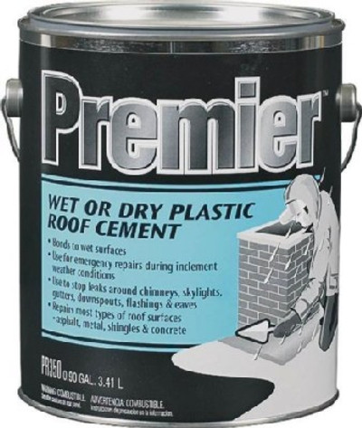 Henry, Wet - Dry Roof Cement, 1 Gallon