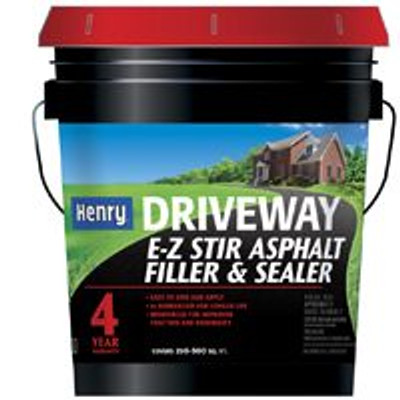 Henry, Blacktop Sealer & Filler, 5 Gal, Rubberized