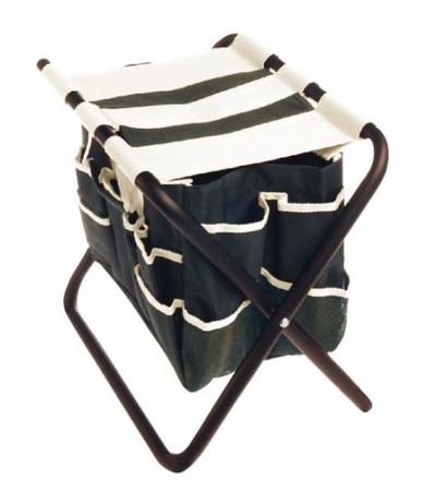 Garden Seat, Folding, With tool Pouch