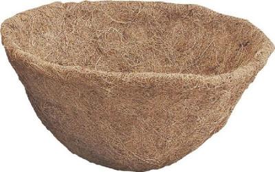 "Planter Liner, 14"" x 6-1/2"", Coconut Fiber"